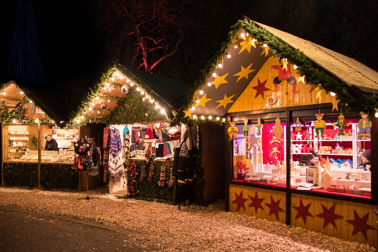 Keulen kerstmarkt markt der engel